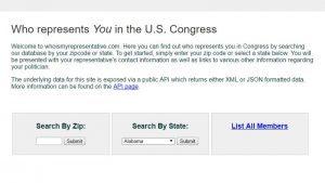 Who is My Representative