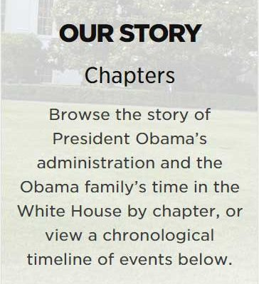 Obama Foundation mobile responsive