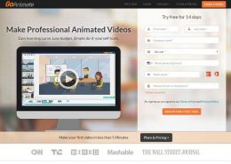 GoAnimate nonprofit animation software
