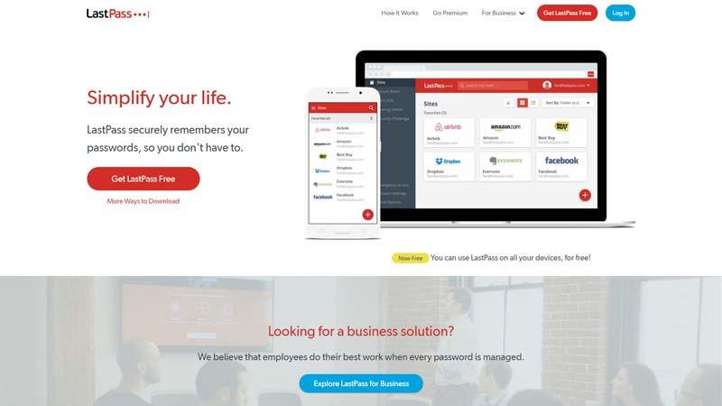 LastPass - Non-profit Tools