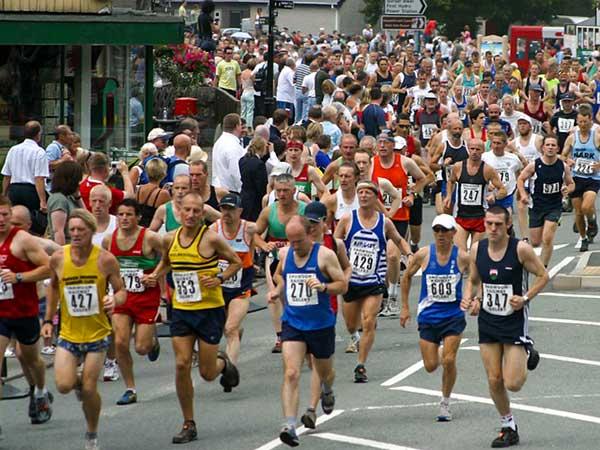 Nonprofit fundraiser - marathon