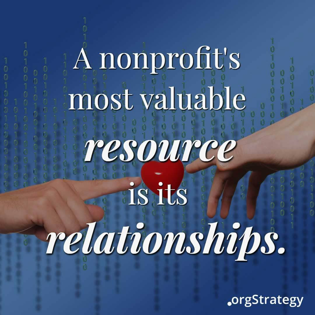 Nonprofit CRM relationships